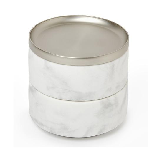 Шкатулка для украшений Tesora, белая