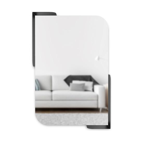 Зеркало Alcove, 52 x 13 x 77, черный