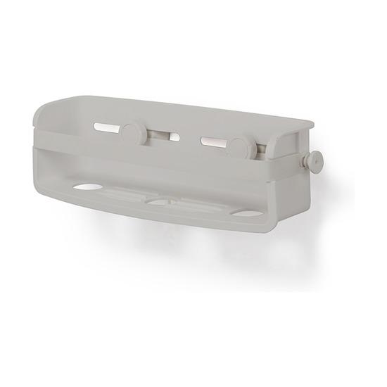 Органайзер для ванной Flex Gel-lock, серый