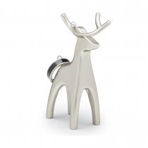 Подставка для колец Anigram олень, никель