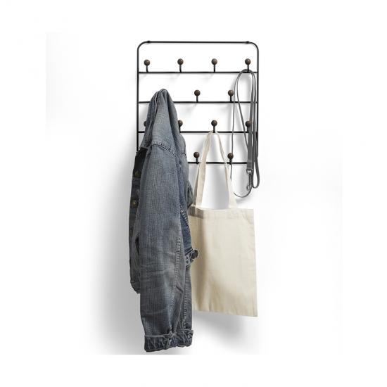 Органайзер для аксессуаров Estique с надверными креплениями, черный орех