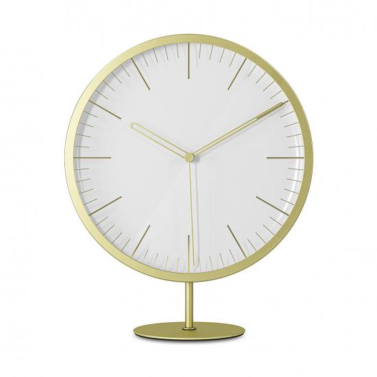 Часы Infinity, матовая латунь