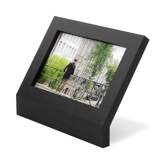 Фоторамка Podium, 10 х 15 см, черная