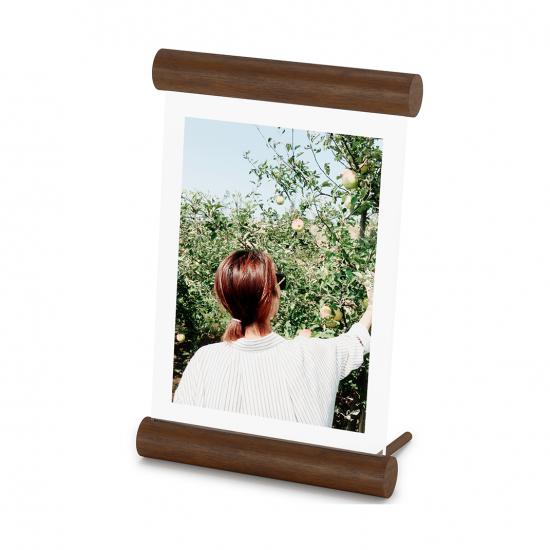 Фоторамка Scroll, 13 х 18 см, светлый орех