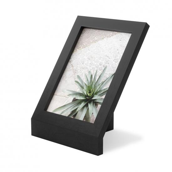 Фоторамка Podium, 13 х 18 см, черная