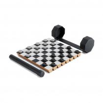 Шахматный набор переносной Rolz, черный