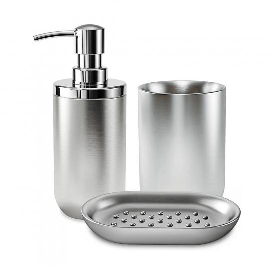 Набор для ванной комнаты Junip Steel