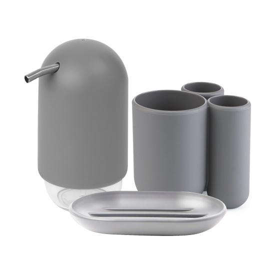 Набор для ванной комнаты Touch Simple Gray