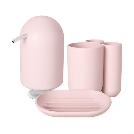 Набор для ванной комнаты Touch Pale Pink