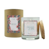 Свеча ароматическая Gifting, Корица и яблоко, 40 ч