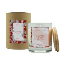 Свеча ароматическая Gifting, Карамель и яблоко, 40 ч